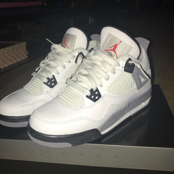 promo code b6c28 f0cd8 Air Jordan 4s White Cements
